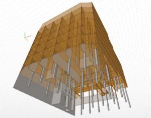 La Borda es un edificio de 7 plantas en madera que albergará 30 pisos e instalaciones comunes