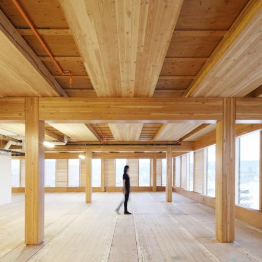Rascacielos de madera, el futuro ya está aquí