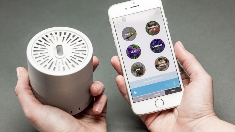 Tecnología multisensorial: tocando y oliendo a través de dispositivos electrónicos