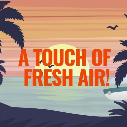 Aqua Blue : A touch of fresh air