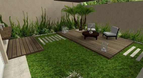 paisajismo - jardín moderno