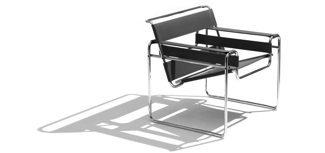 Chaise Wassily, conception de meubles du Bauhaus
