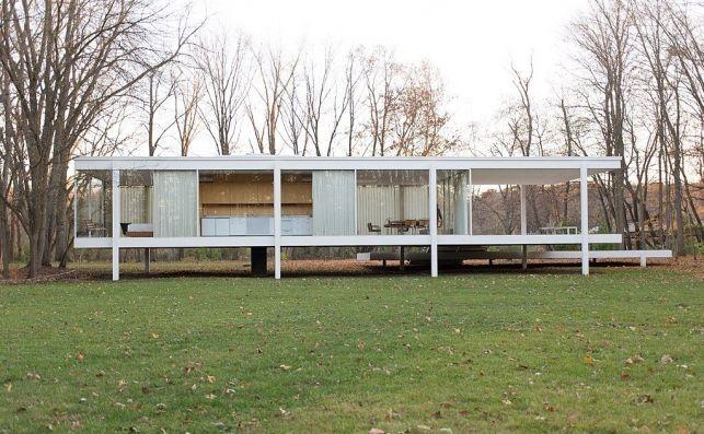Bauhaus architecture - Farnsworth House