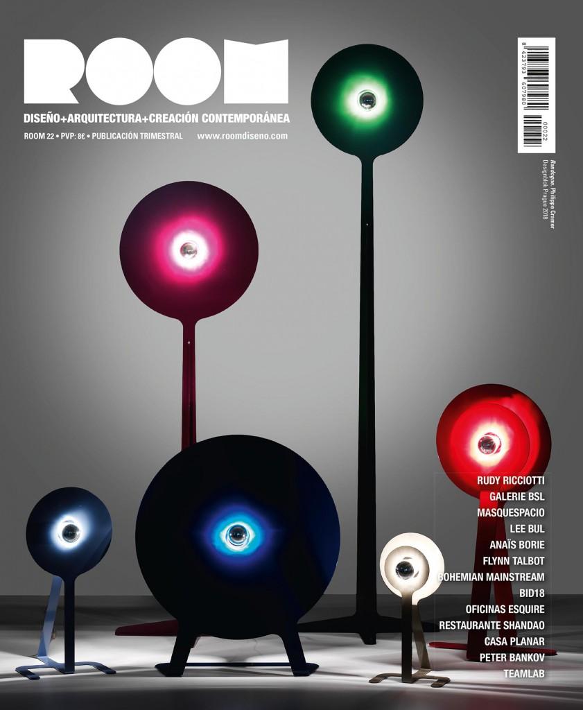 Portadas de la revista ROOM Diseño