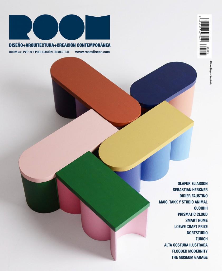 Portadas de la revista ROOM Diseño, Antonio Jesús Luna