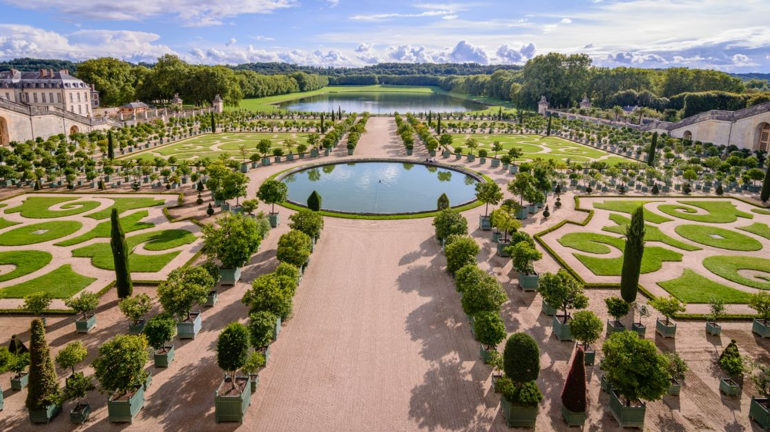 Versailles, The seven most beautiful gardens in the world