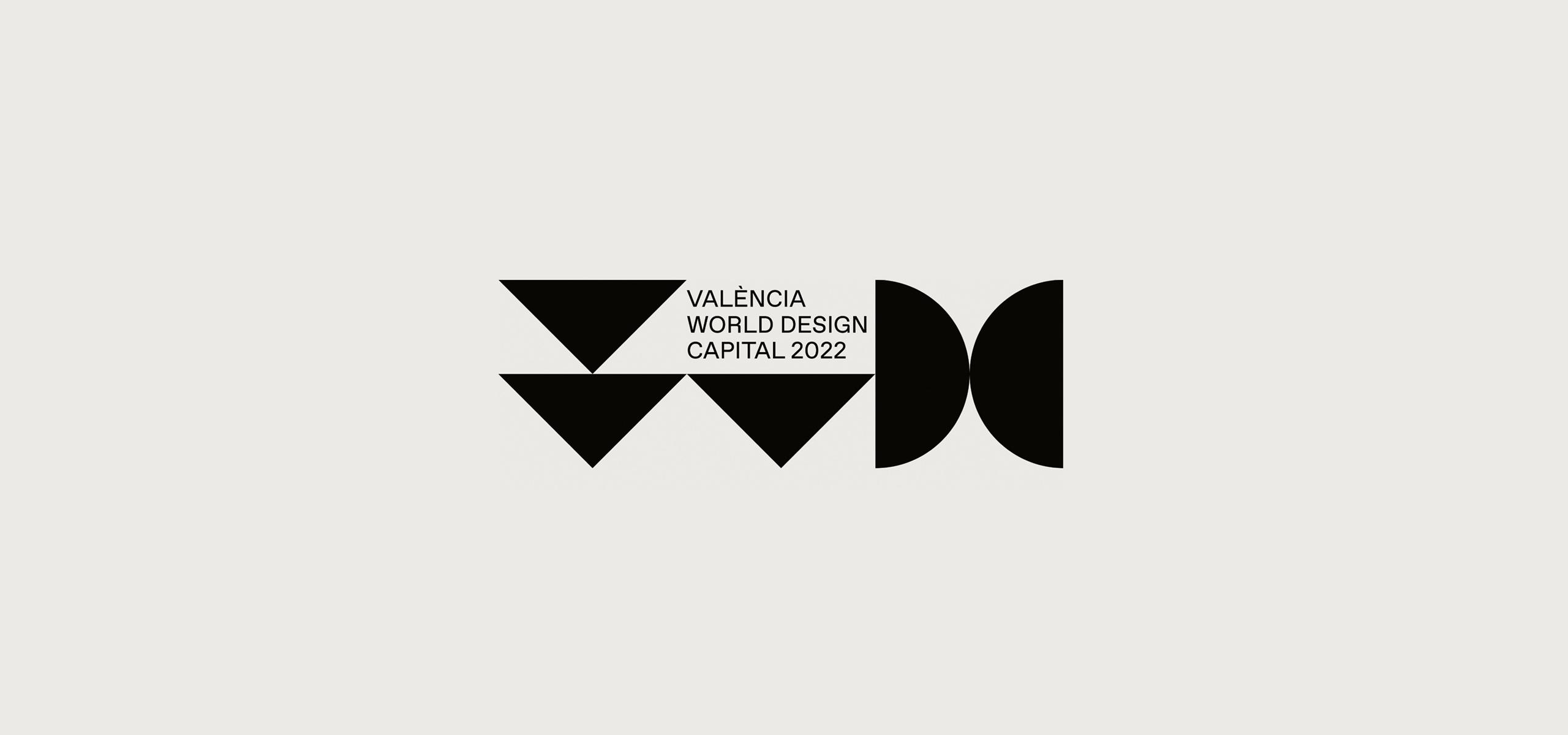 Logo Valencia Capital Mundial del Diseño de 2022