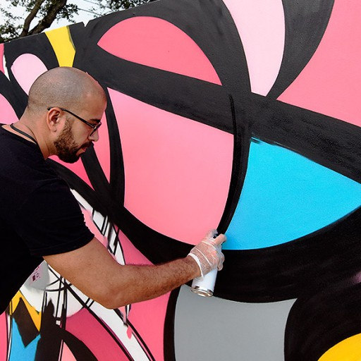 Urban spaces restored thanks to artistic intervention