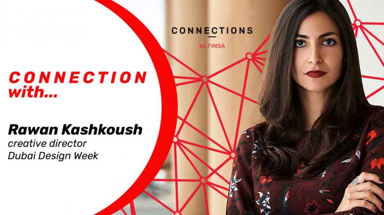 CONNECTION WITH… Rawan Kashkoush, creative director at Dubai Design Week