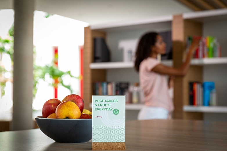 La alimentación es uno de los 10 conceptos evaluables del WELL Building Standard